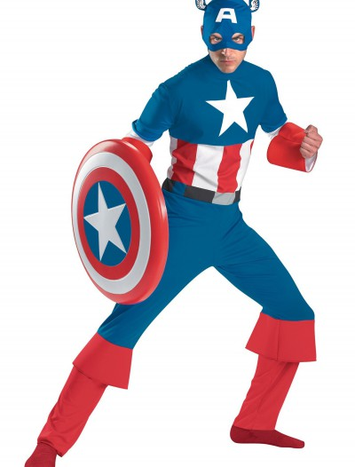 Classic Captain America Costume buy now