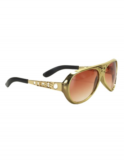 Classic Gold Elvis Glasses buy now