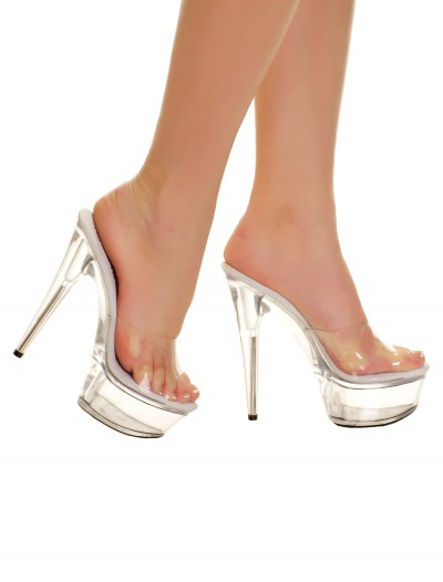 Clear Slip In Heels buy now