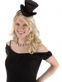 Cocktail Top Hat Headband Black buy now