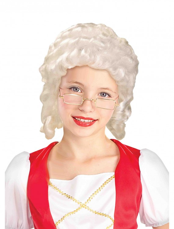 Colonial Girl Wig buy now