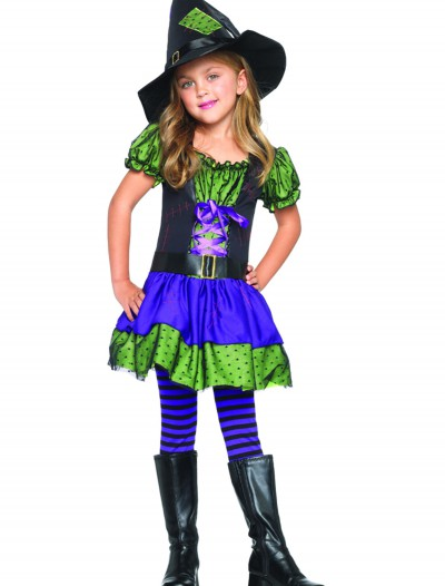 Colorful Child Witch Costume buy now