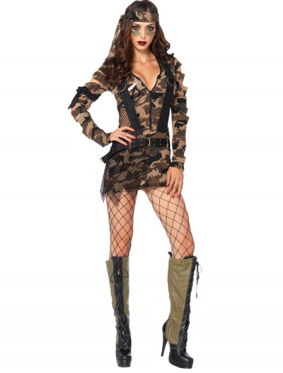 Combat Babe Costume buy now