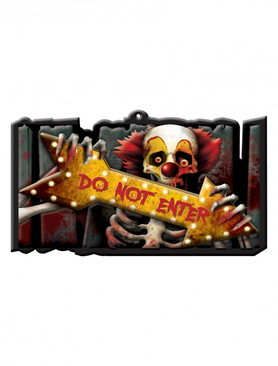 Creep Carnival Vacuform Sign buy now