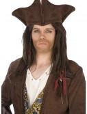 Dark Brown Pirate Hat buy now