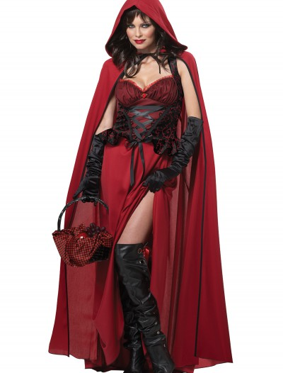 Womens Dark Red Riding Hood Costume buy now