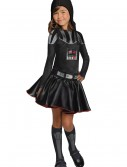 Darth Vader Girls Dress Costume buy now