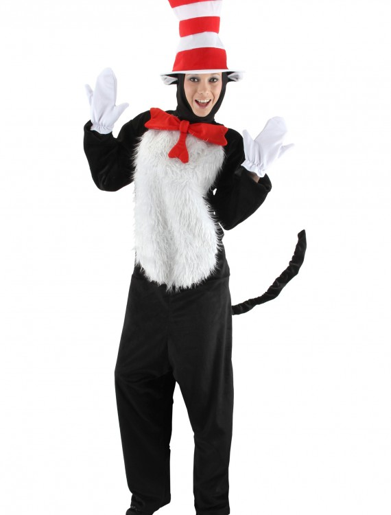 Deluxe Adult Cat in the Hat Costume buy now