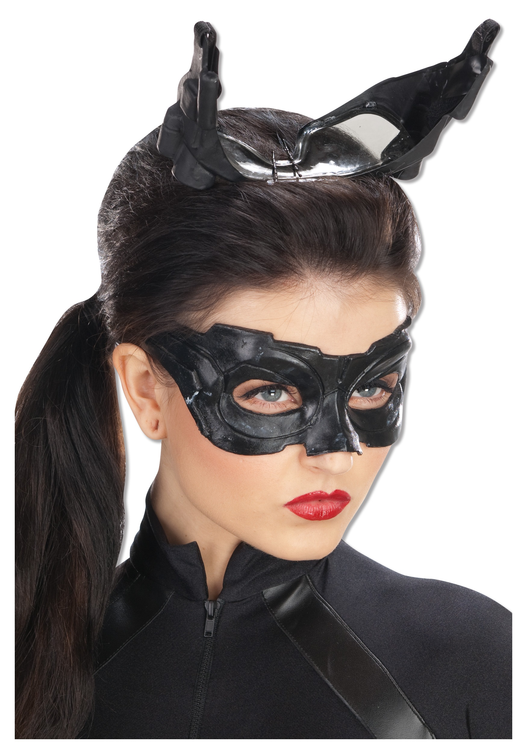Deluxe Catwoman Mask  sc 1 st  Halloween Costumes & Deluxe Catwoman Mask - Halloween Costumes