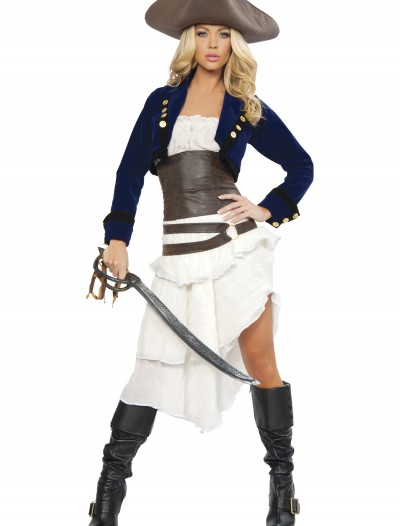 Deluxe Colonial Pirate Costume buy now