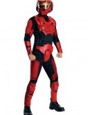 Deluxe Halo Red Spartan Costume buy now