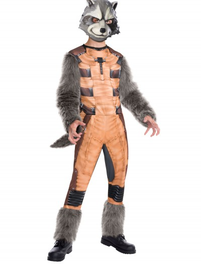 Deluxe Kids Rocket Raccoon Costume buy now