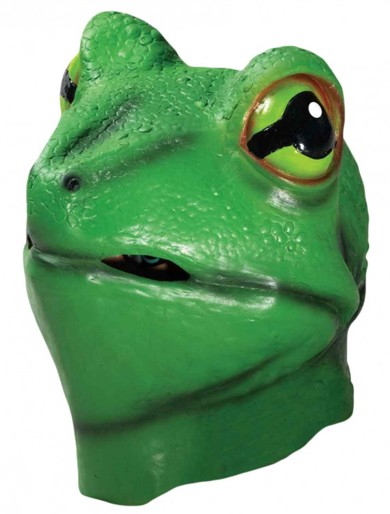 Deluxe Latex Frog Mask buy now