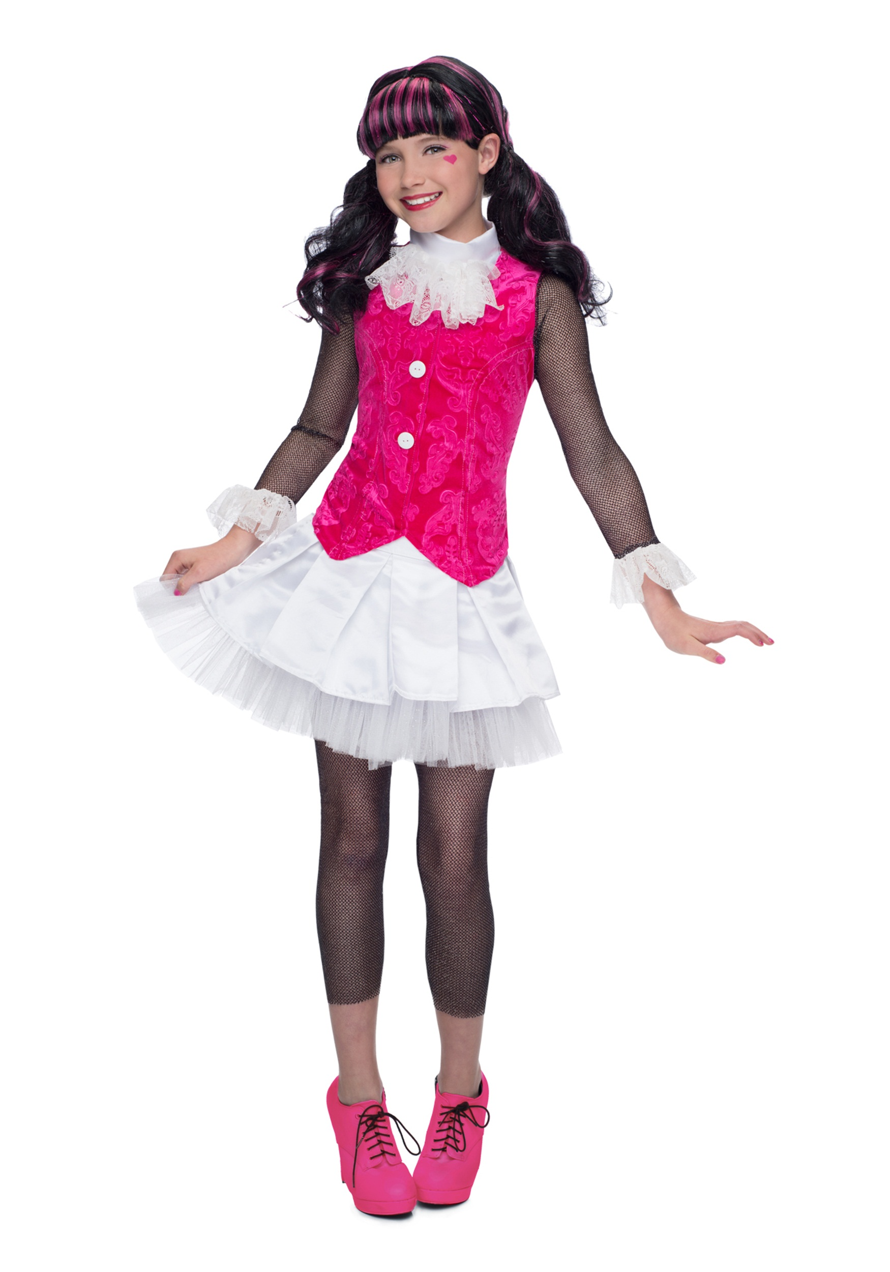 Deluxe Monster High Draculaura Costume  sc 1 st  Halloween Costumes : monster high girl halloween costumes  - Germanpascual.Com
