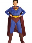 Deluxe Child Muscle Chest Superman Costume buy now