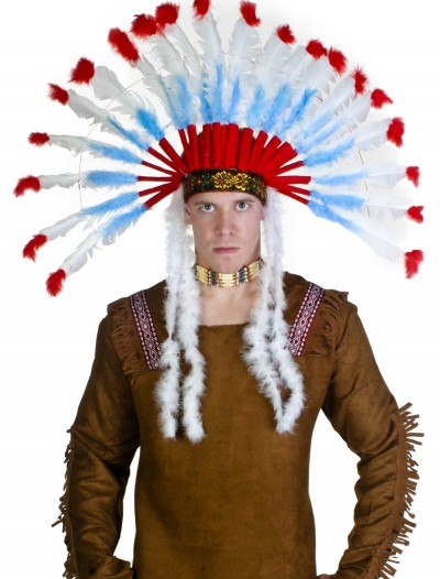 Deluxe Native American Headdress buy now
