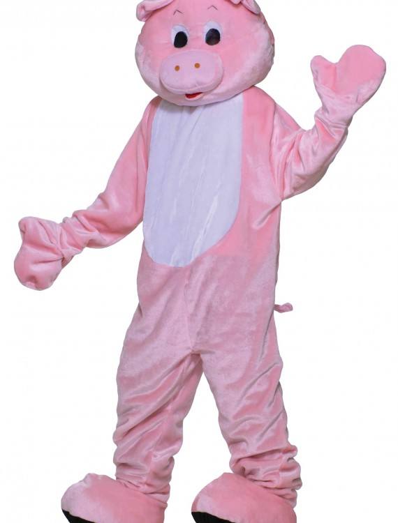 Deluxe Pig Mascot Costume buy now