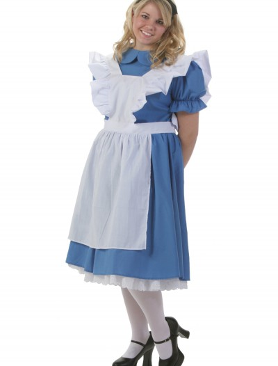 Deluxe Plus Size Alice Costume buy now