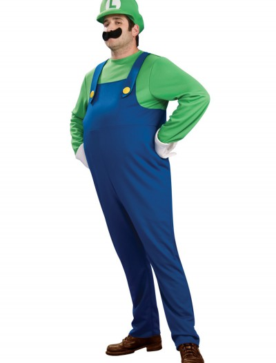 Deluxe Plus Size Luigi Costume buy now