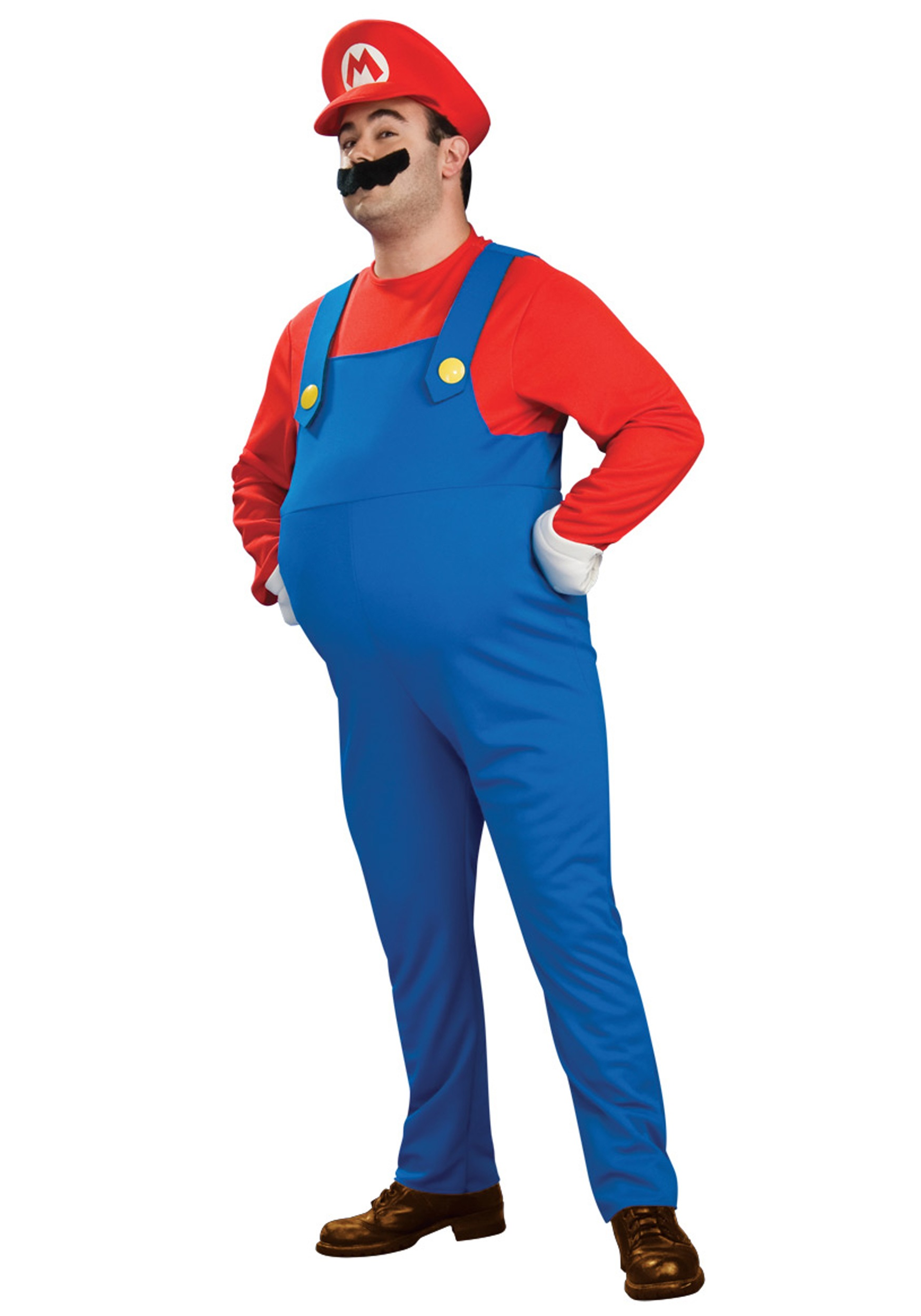 Deluxe Plus Size Mario Costume  sc 1 st  Halloween Costumes : super mario costume for baby  - Germanpascual.Com