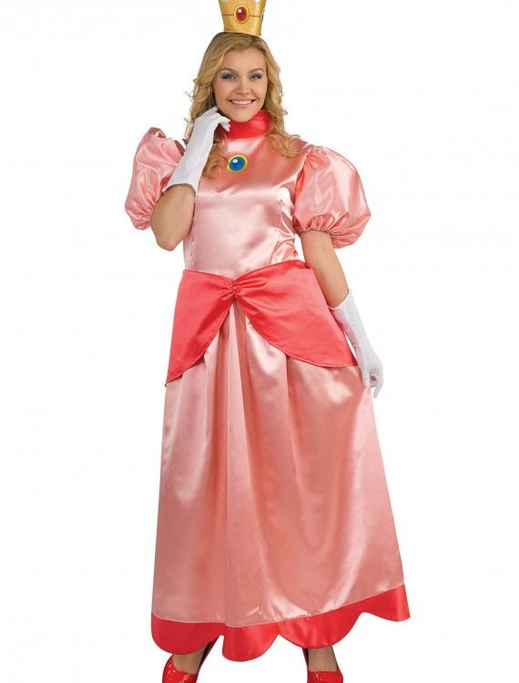 Deluxe Princess Peach Plus Size Costume buy now