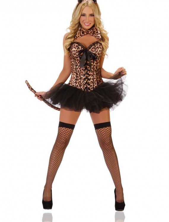 Deluxe Sexy Leopard Costume buy now