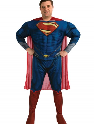 Deluxe Superman Plus Size Costume buy now