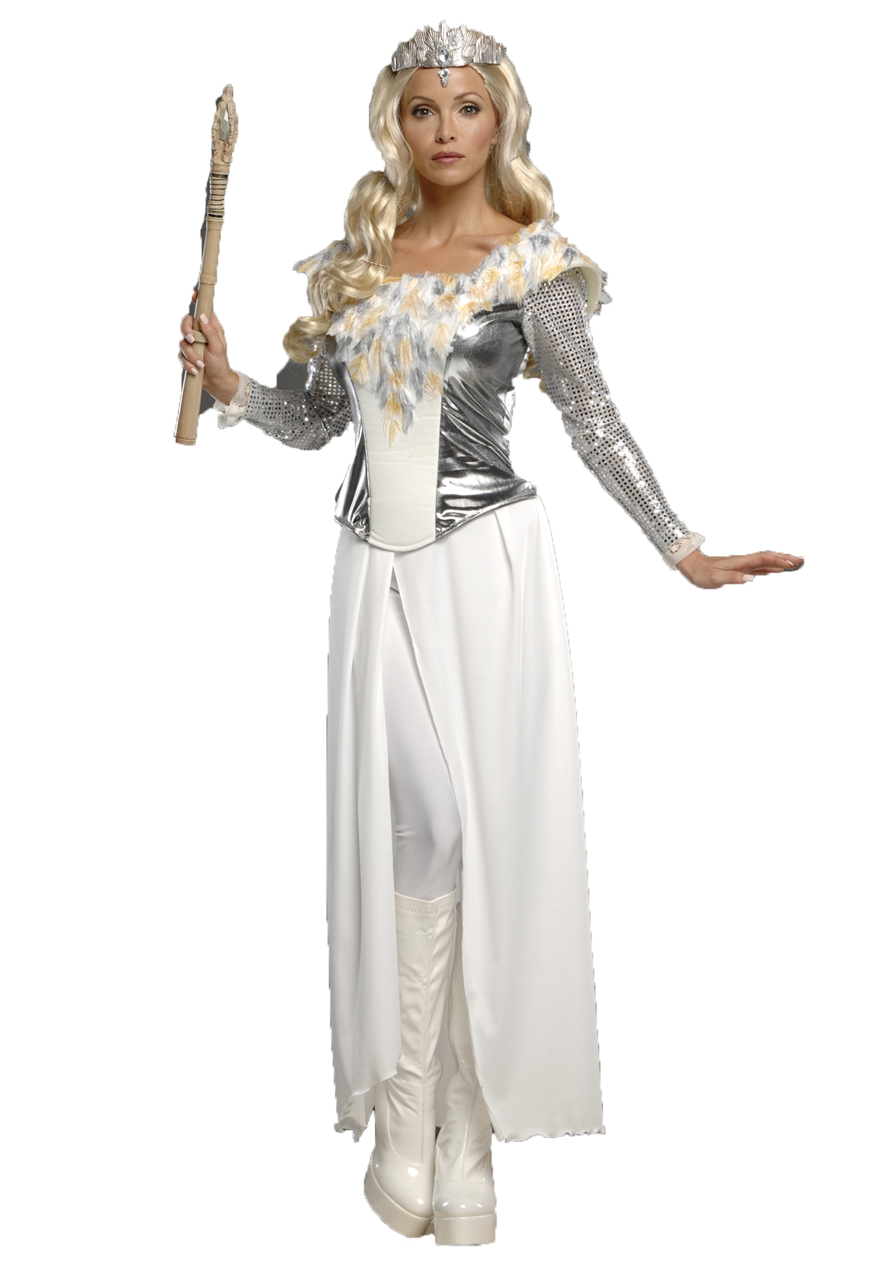 Deluxe Teen Glinda Costume  sc 1 st  Halloween Costumes : glinda good witch costume  - Germanpascual.Com