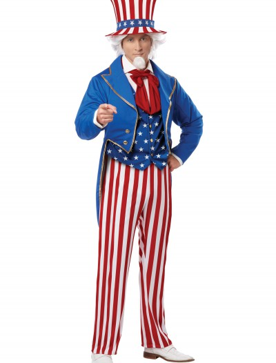 Mens Deluxe Uncle Sam Costume buy now