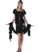 Deluxe Velvet Flapper Costume buy now