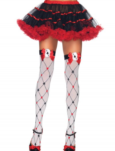 Diamond Card Suit Thigh Highs buy now