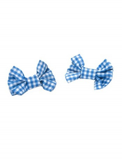 Gingham Hair Bows buy now