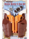 Double Holster and Gun Set buy now