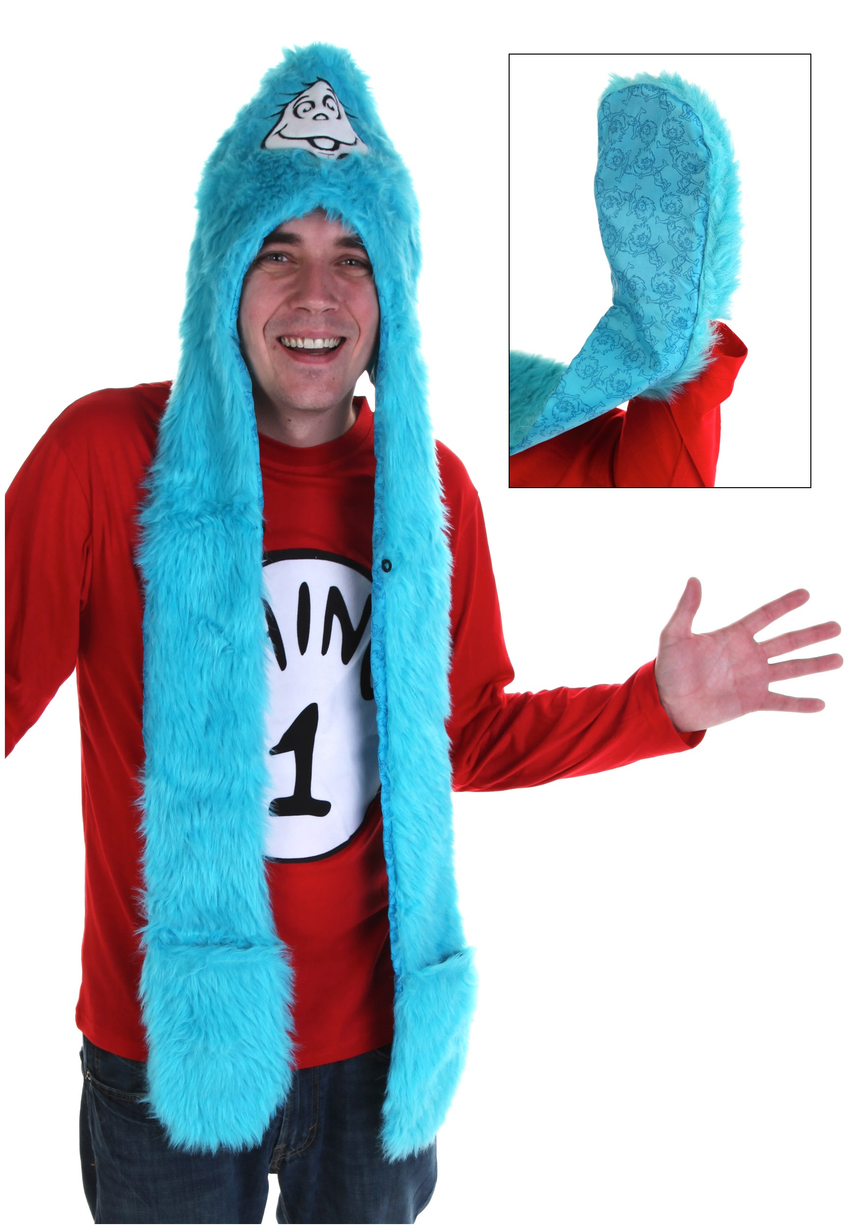 Dr Seuss Thing 1 Snood buy now