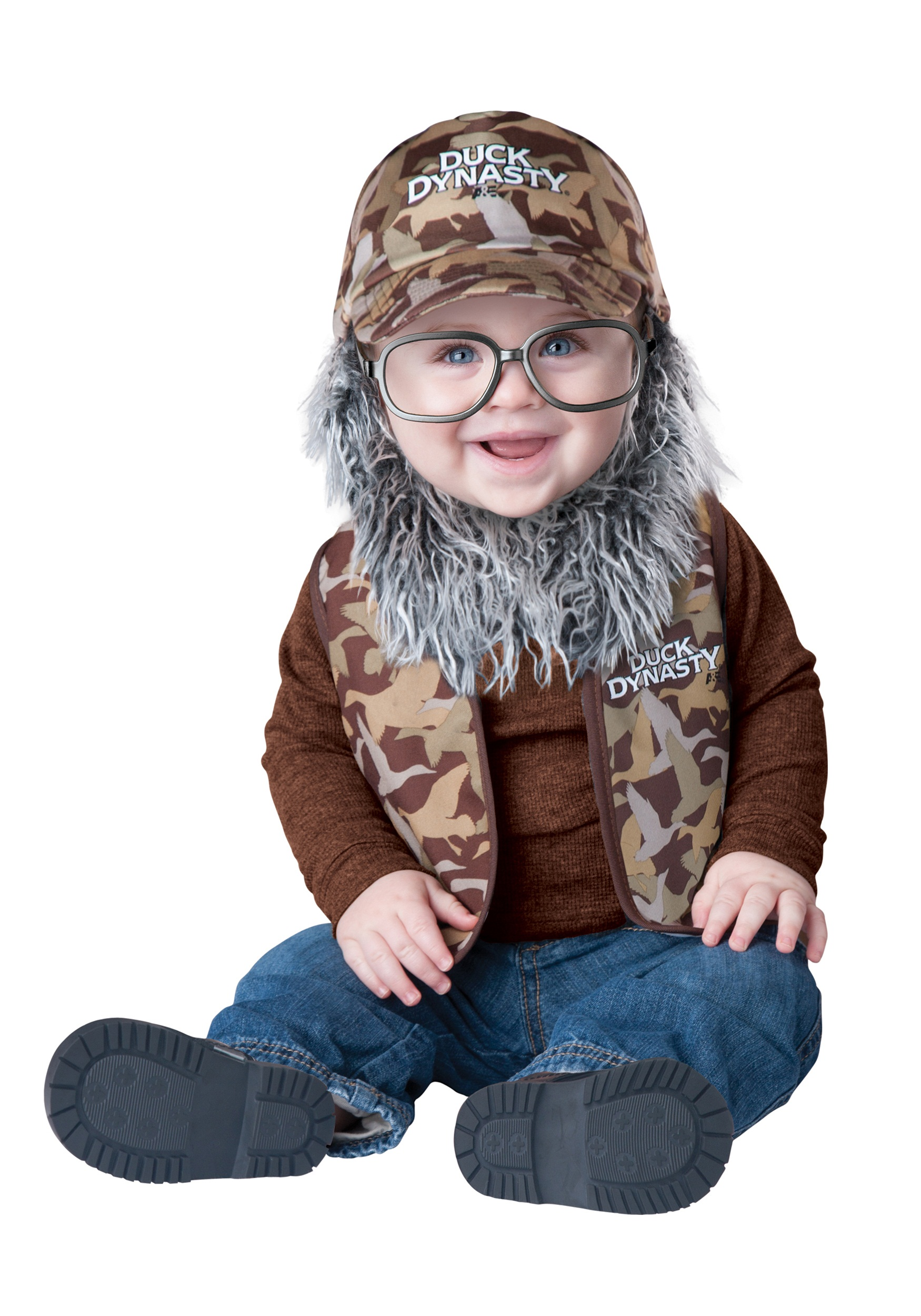 Duck Dynasty Infant Uncle Si Costume  sc 1 st  Halloween Costumes & Duck Dynasty Infant Uncle Si Costume - Halloween Costumes