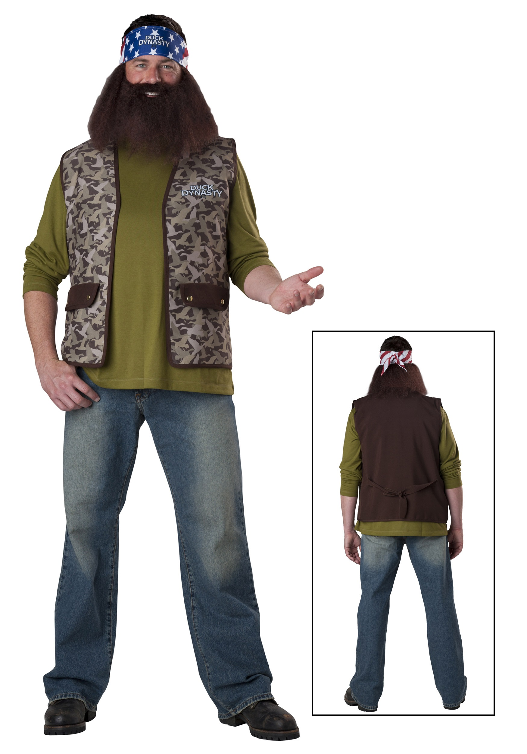 Duck Dynasty Willie Costume  sc 1 st  Halloween Costumes & Duck Dynasty Willie Costume - Halloween Costumes