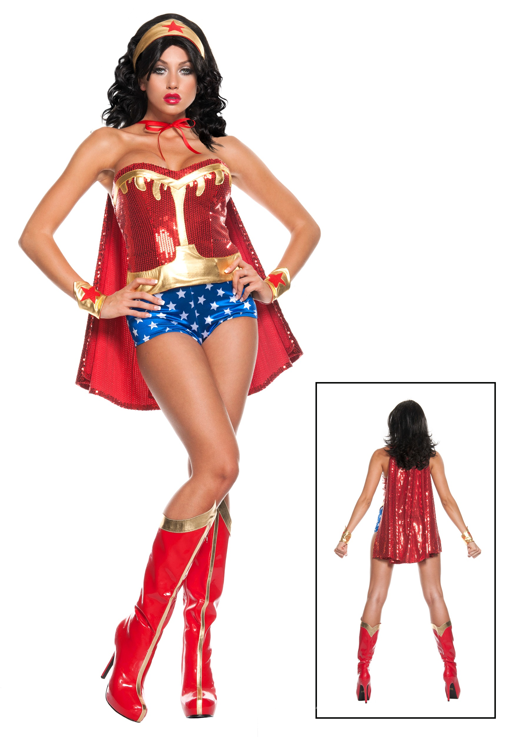 Exclusive Deluxe Superhero Costume Halloween Costumes