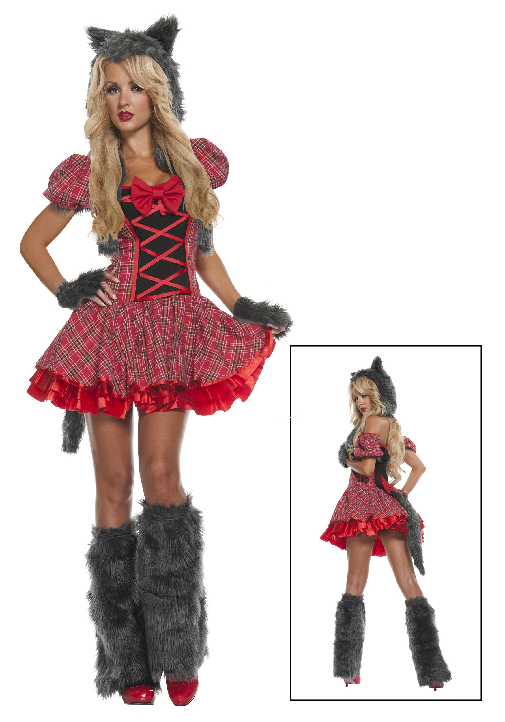 Exclusive Sexy Red Riding Wolf Costume  sc 1 st  Halloween Costumes & Exclusive Sexy Red Riding Wolf Costume - Halloween Costumes