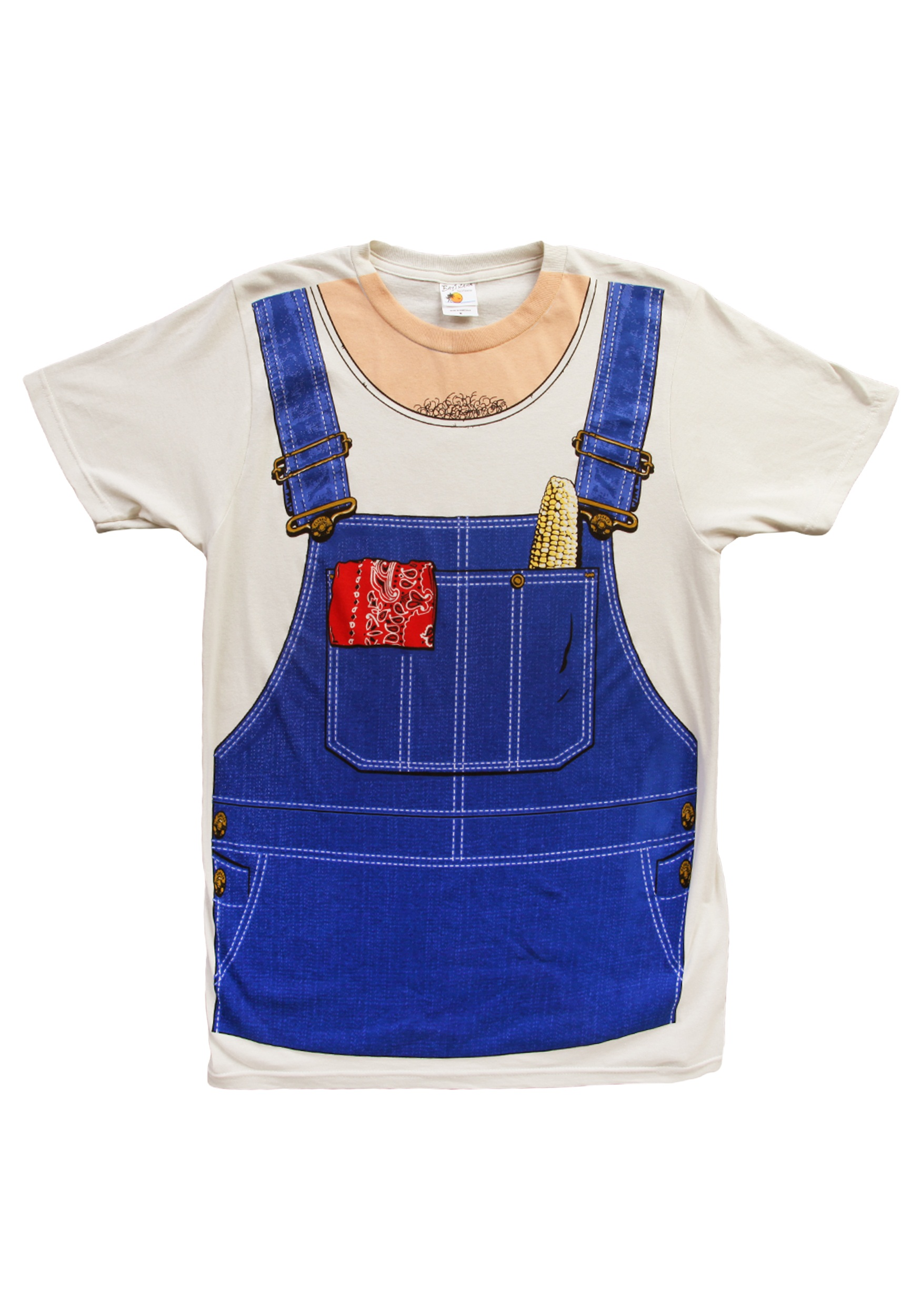 Farmer costume t shirt halloween costumes for Costume t shirts online