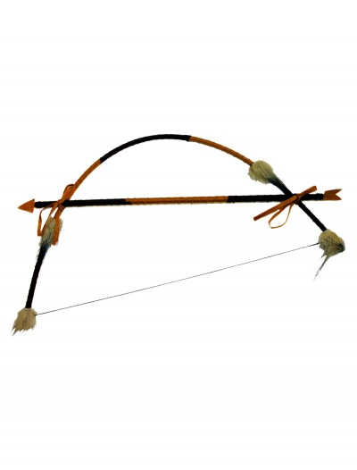 Feathered Indian Bow and Arrow Set buy now