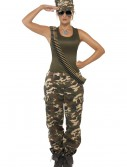 Female Khaki Camo Costume buy now