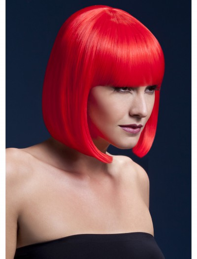 Styleable Fever Elise Neon Red Wig buy now