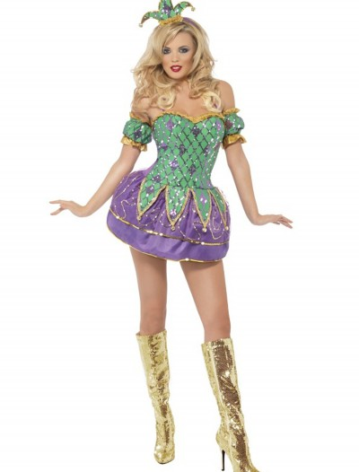 Fever Harlequin Shine Costume buy now