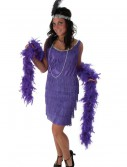 Fringe Purple Flapper Costume buy now
