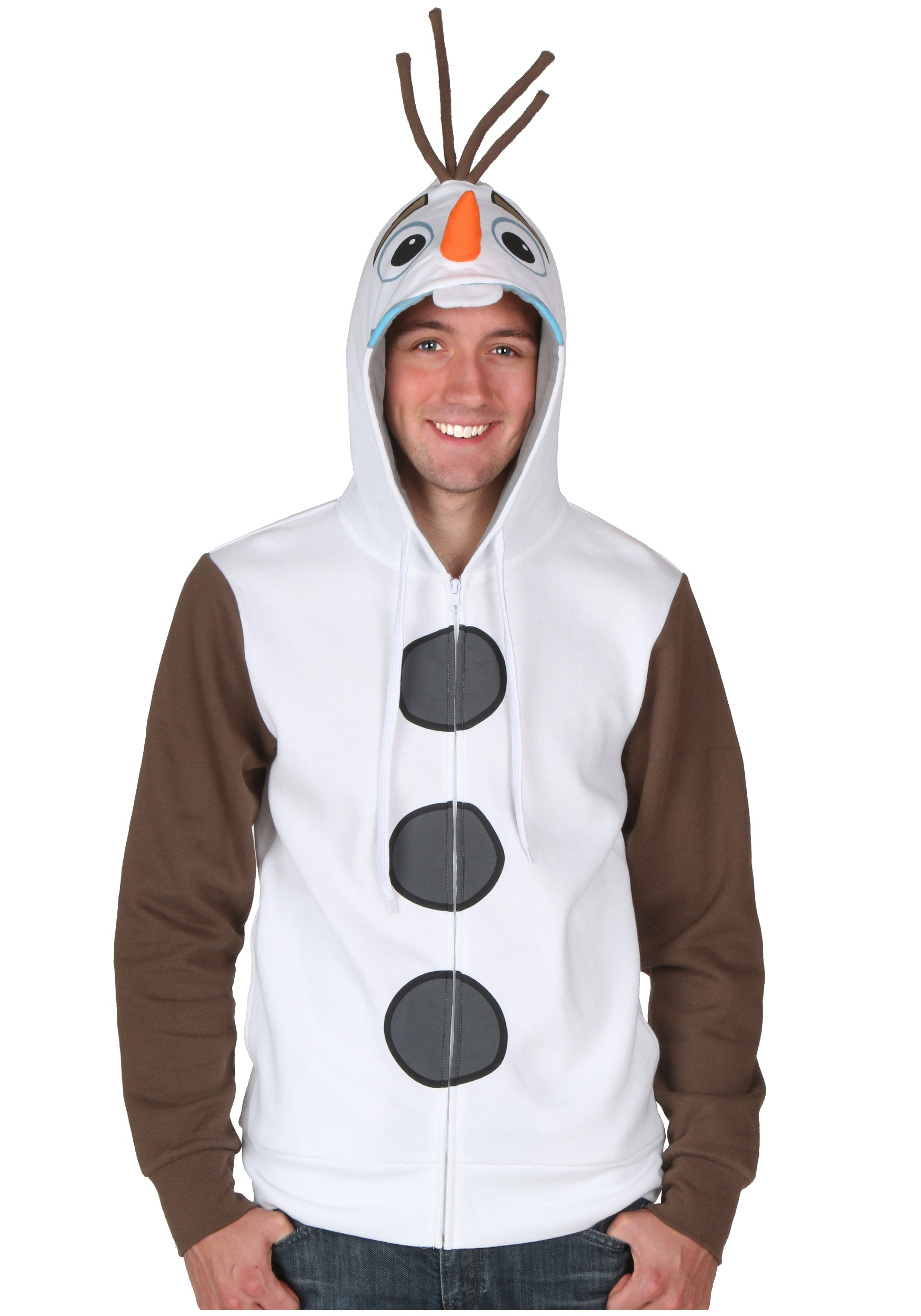 Frozen I AM Olaf Hoodie  sc 1 st  Halloween Costumes : frozen mens costume  - Germanpascual.Com