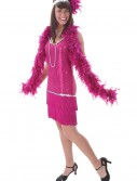 Fuchsia Flapper Dress buy now