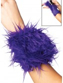 Furry Purple Wrist Wallet buy now