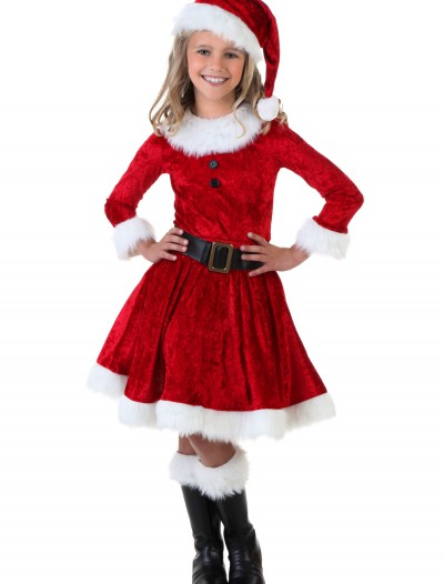 Girl Mrs. Claus Costume buy now