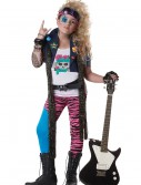 Girls 80s Glam Rocker Costume buy now