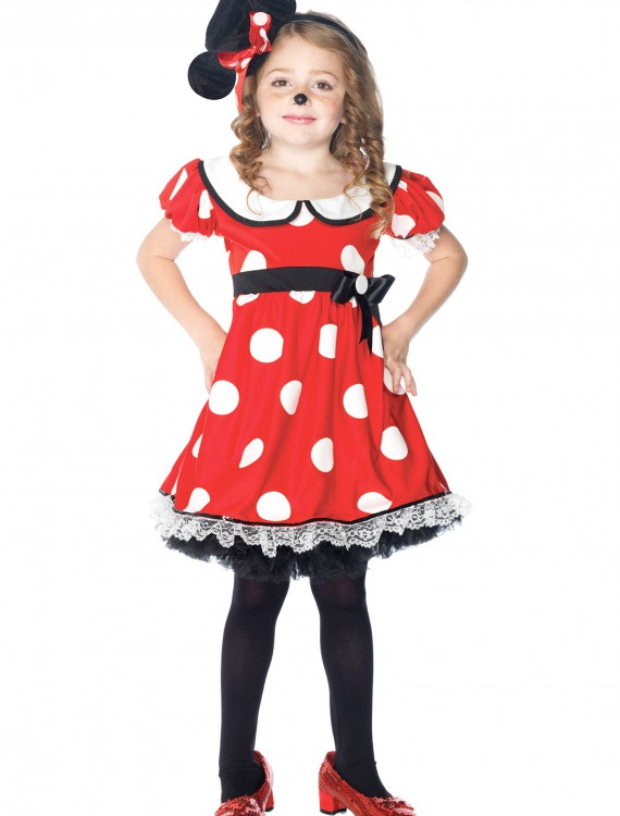 Girls Adorable Miss Mouse Costume buy now